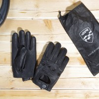 Racing Syndicate - Car Classic Black- leather driving gloves