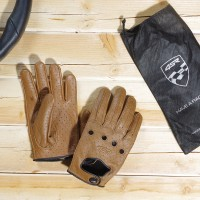 Racing Syndicate - Car Classic Brown - leather driving gloves