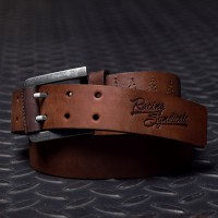 Racing Syndicate Leather belt Double